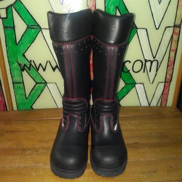Защитные ботинки кожаные женские