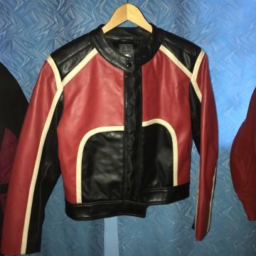 Куртка Зulien женская кожаная