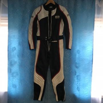 Мотокомбинезон JUMBA женский кожаный раздельный