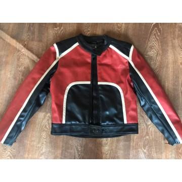 Куртка Зulien  кожаная