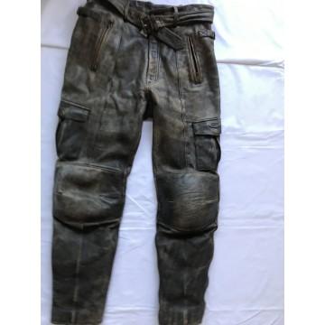 Мотобрюки Loris кожаные