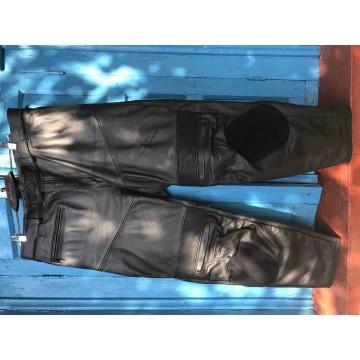 Мотобрюки Dainese спортивные кожаные
