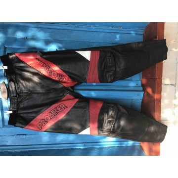 Мотобрюки Probiker кожаные
