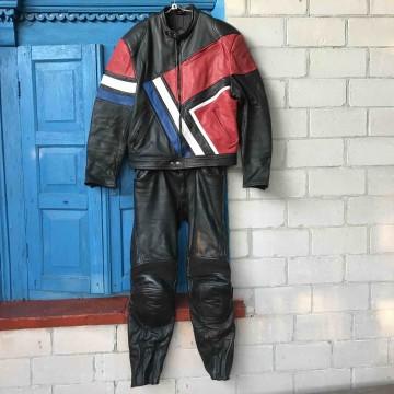 Мотокомбинезон Kravehl-Leader раздельный кожаный