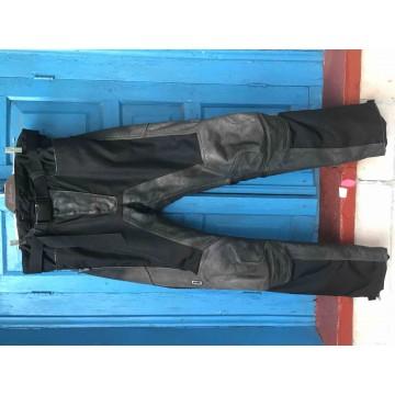 Мотобрюки Polo текстильные с кожаными вставками