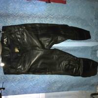 Мотобрюки кожаные ECHTE Leder