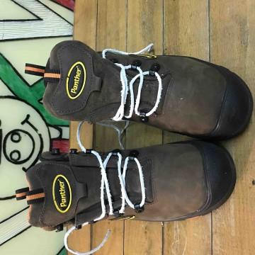 Защитные ботинки кожаные Panther