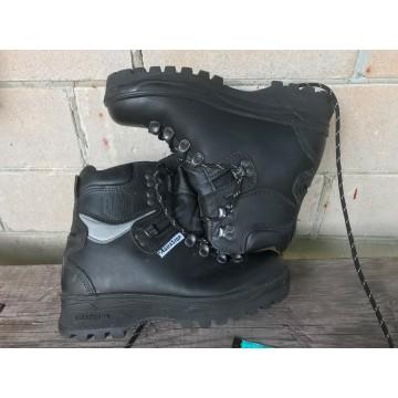 Ботинки защитные кожаные